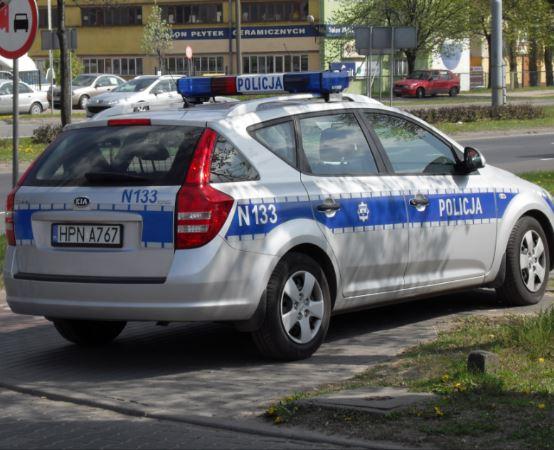 Policja Częstochowa: Częstochowski zespół konny pilnował porządku w Chorzowie